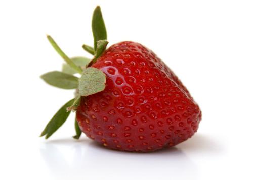 fraises delicieuses en juillet